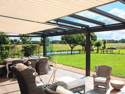 Terrassendach Integral T100 T150 Fenster Hausturen